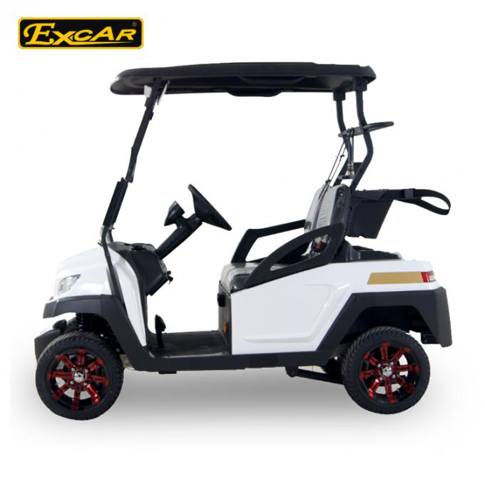 2 Seater 48V Electric Golf Carts for Golf Course