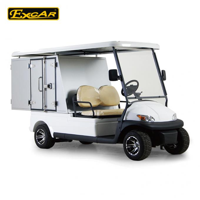 Electric Utility Carts with Cargo box