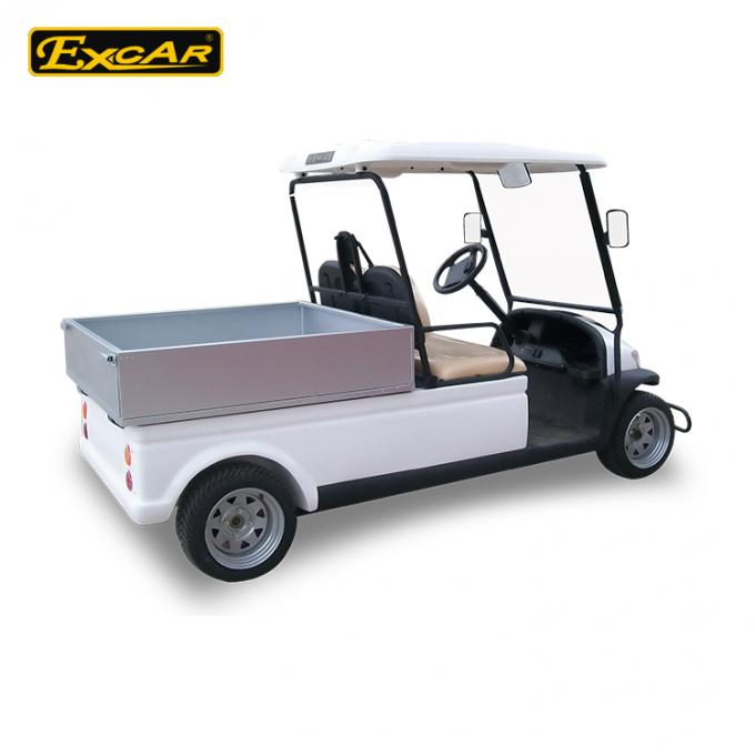 A1H2 / CC Electric Utility Carts 48 Voltage Battery With Comfortable Seats