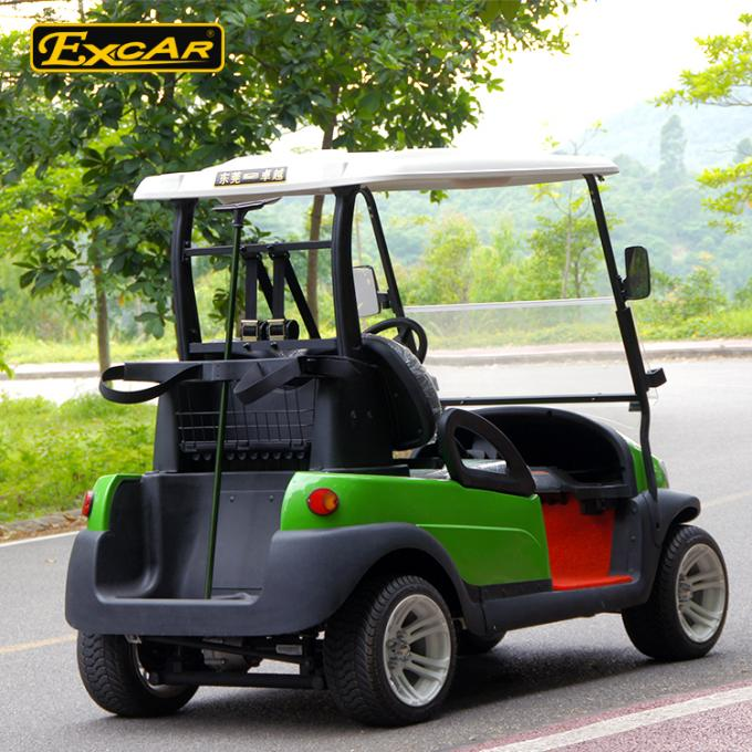 45kmph Used Low Speed Electric Vehicles 2 Rear Seat With AC DC System