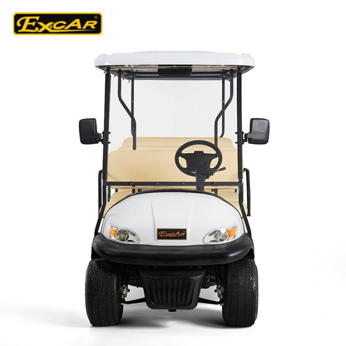 11 Seater Battery Power Electric Golf Buggy , Electric Sightseeing Car CE Approved