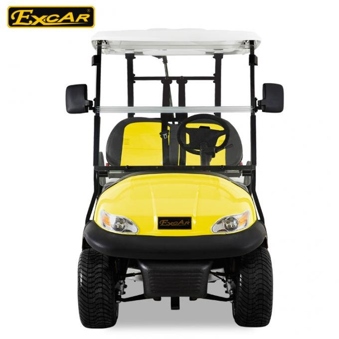 EXCAR Double Color Seat Golf Cart Electric 48 Voltage With Aluminum Rim