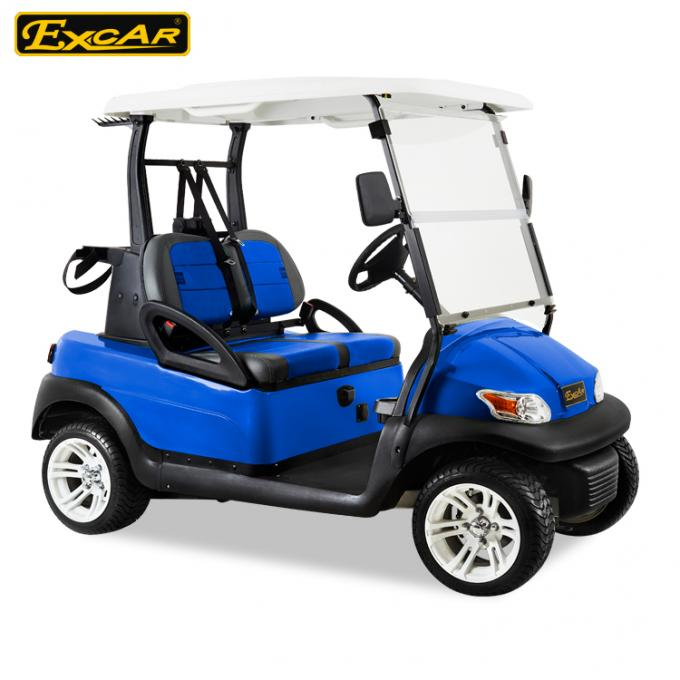Blue Color Mini Electric Golf Buggy 48V With Trojan Battery/Curtis Controller