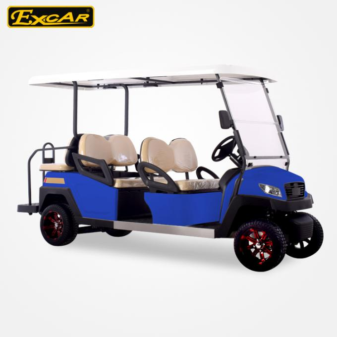 ISO Approved Electric Golf Carts 350A Controller Golf Cart Buggy 48V