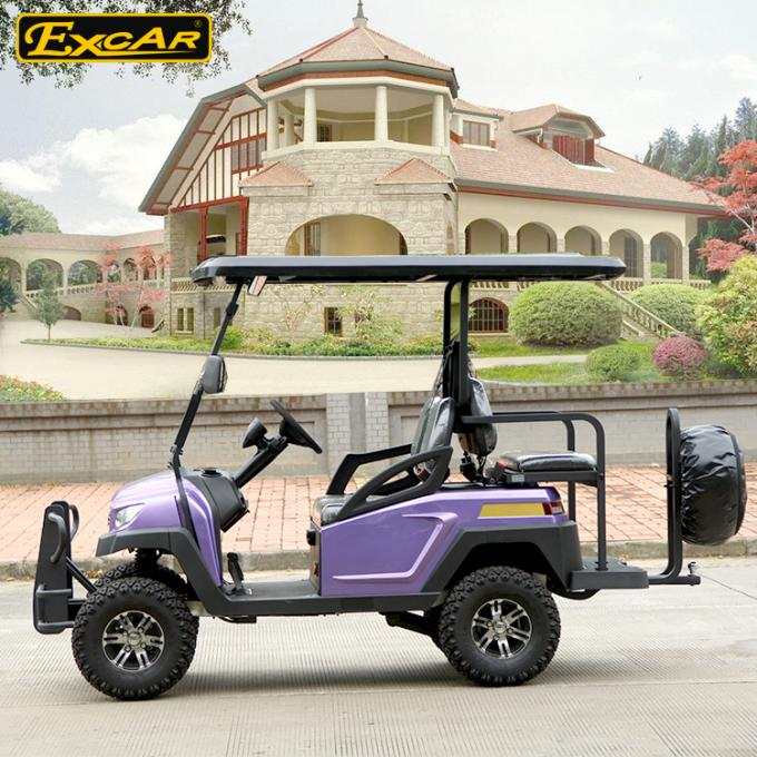 Electric 270A Club Car Electric Hunting Carts