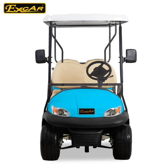 Sky Blue Electric Golf Buggy 6 Seater