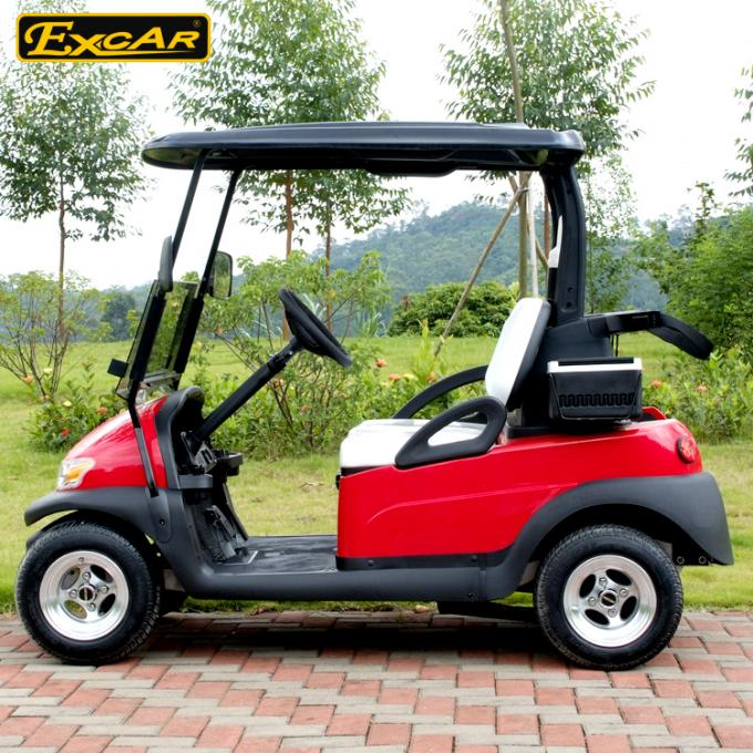 EXCAR CE Certificated Approved Golf Cart White Seat For Golf Course 1