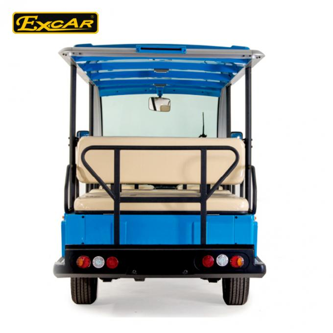 11 Seats Electric Sightseeing Bus 4 Wheel Electric Shuttle Car 1