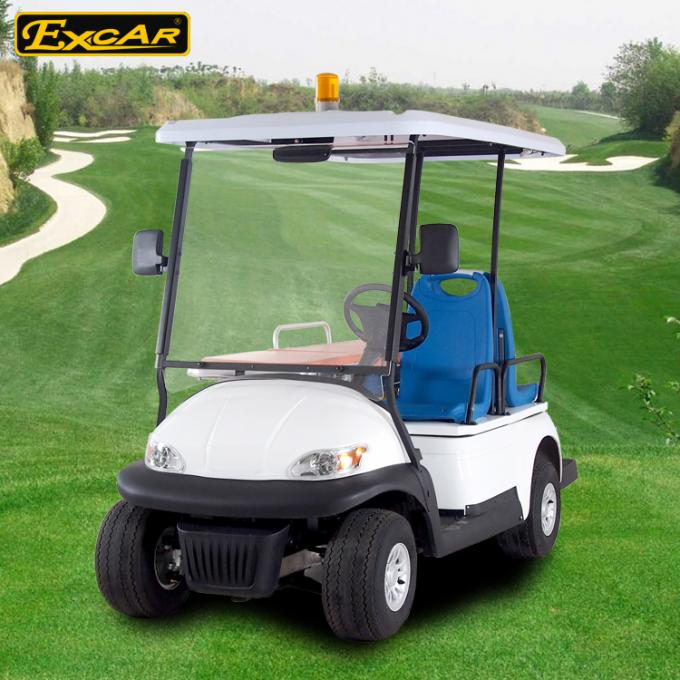 EXCAR Mini Ambulance Golf Cart For Hospital With 1 Stretcher CE Certification