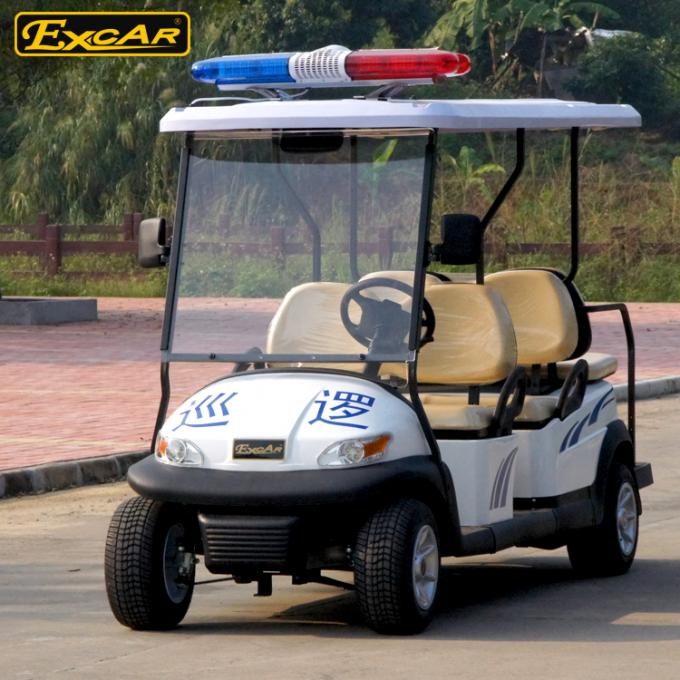 Automobile Large Golf Cart Security For 6 Person Enclosed Type