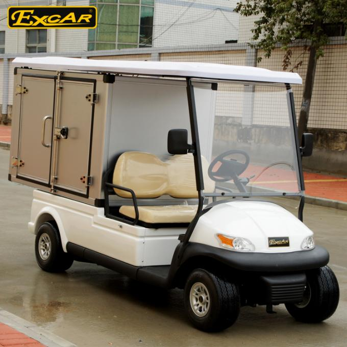 EXCAR 2 Seats Hotel Buggy Car With Container