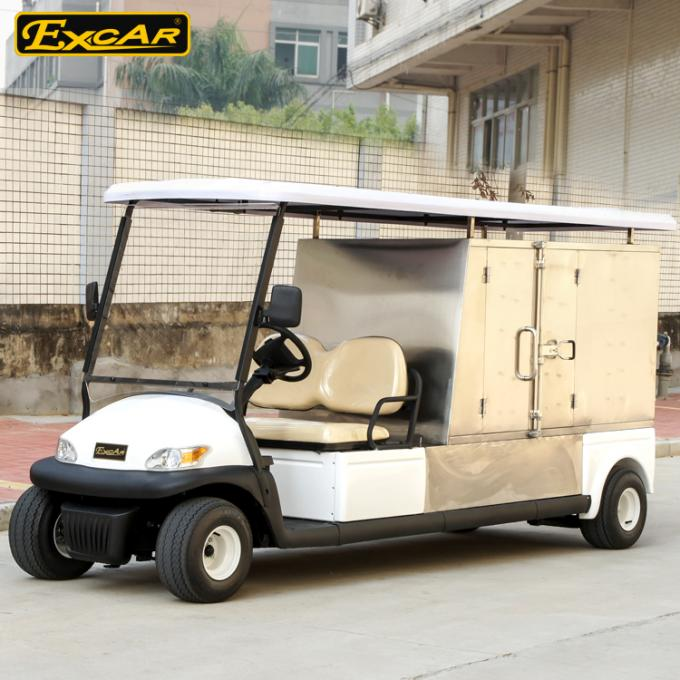 2 Person Hotel Buggy Car 3 7KW 48V Trojan Batteries Golf Cart Buggy