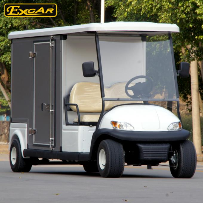 Aluminum 2 Person Golf Cart Beverage Cart With Italy Graziano Axle