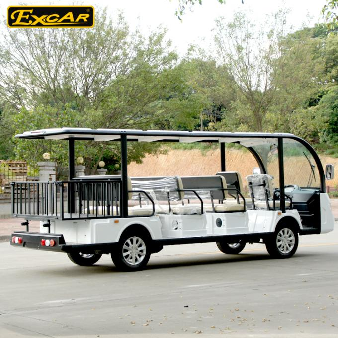 Electric Sightseeing Car With Iron Frame