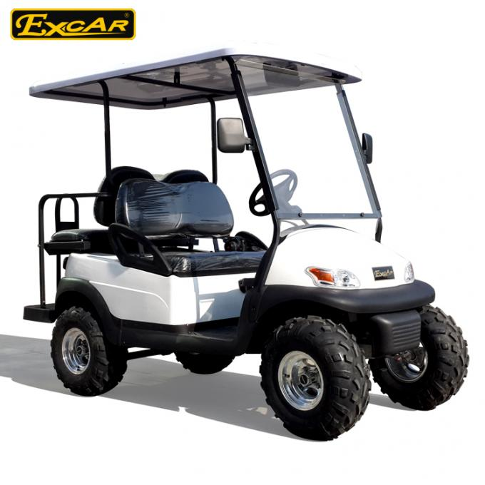 White 2 Seater Beach Electric Hunting Buggy With Trojan Battery 0