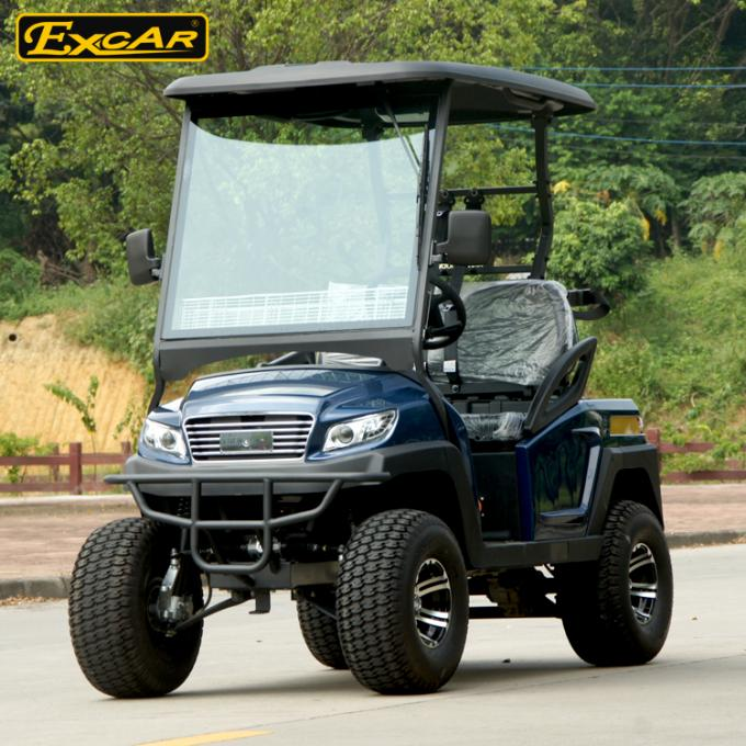 4 Wheel Drive Electric Golf Cart For Hunting Ac Dc Motor 48v 3kw