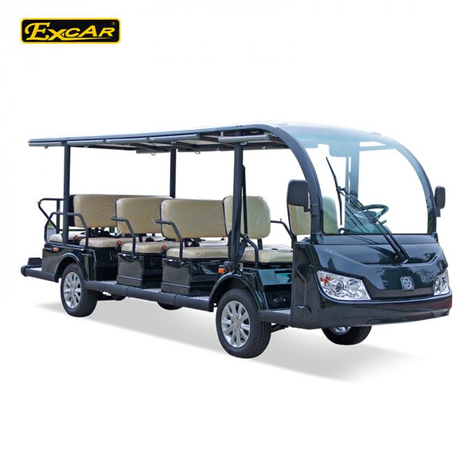CE Approved Electric Sightseeing Bus In Amusement Park / Electric Shuttle Car