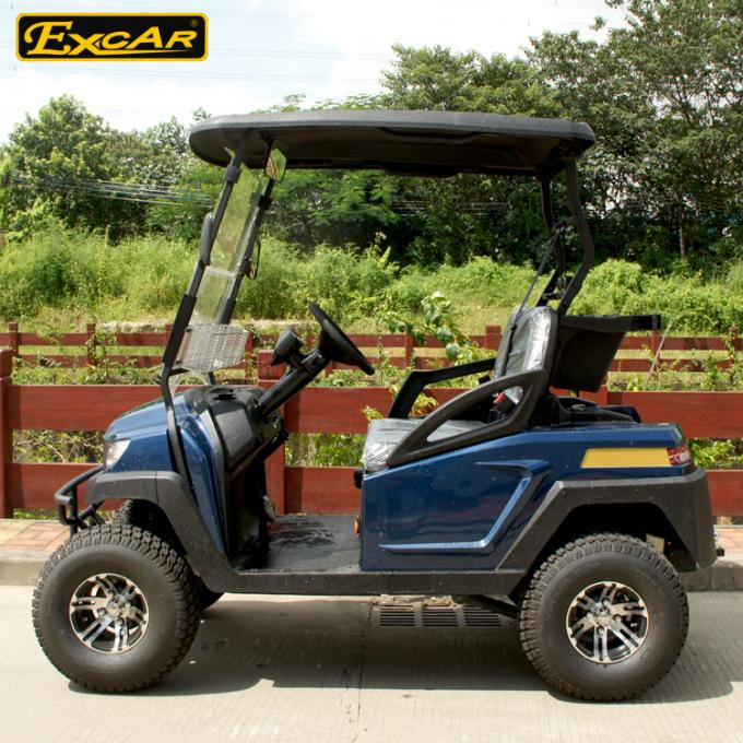 Aluminum Chassis Four Wheel Drive Small Golf Cart For Two
