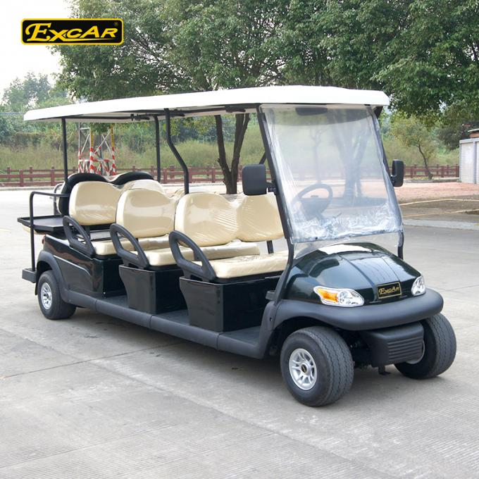 Comfortable 2 Seater Electric Sightseeing Car ADC 48V 5KW Acim