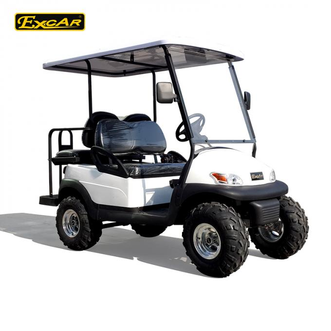 EXCAR 48V 2 Seater Electric Hunting Golf Carts Intelligent Onboard Charger
