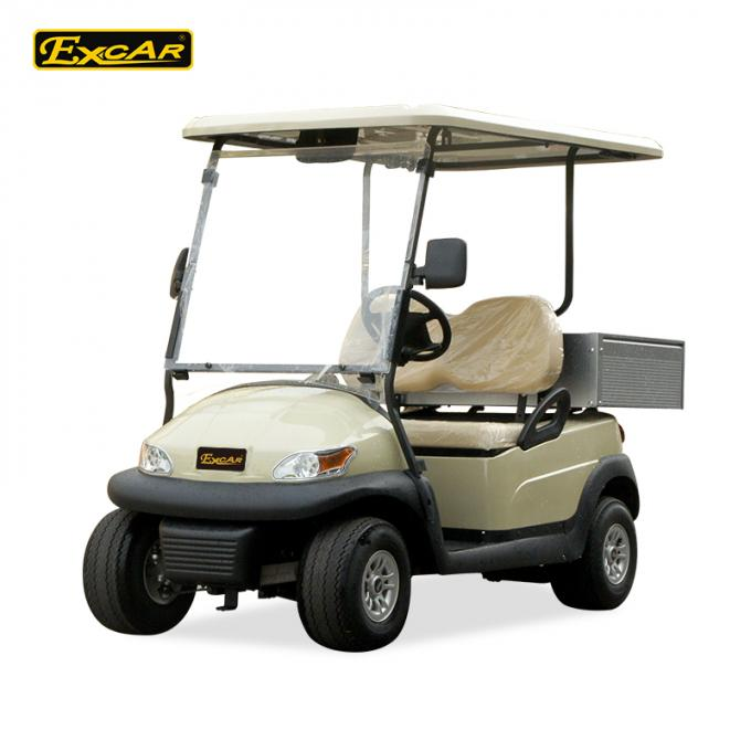 Ce 2 Seater Electric Golf Car Italy Graziano Axle 48v Trojan Battery