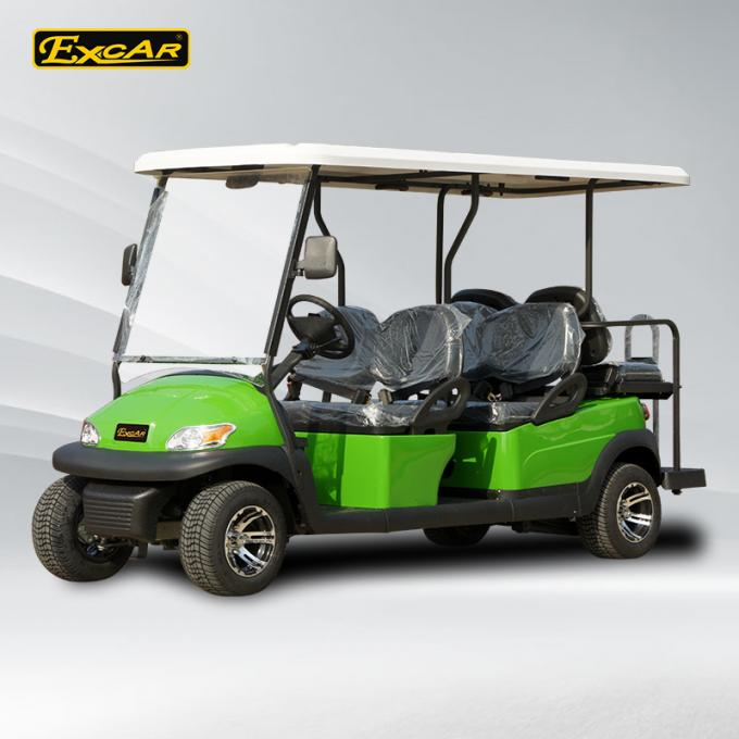 Excar CE approved 6 seat Electric golf car,48V Trojan battery golf buggy car