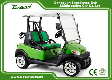 China ADC Motor 2 Seater Electric Powered Golf Carts Aluminum Chassis supplier