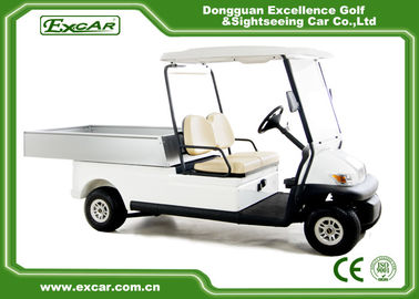 China Trojan Battery Powered Electric Utility Carts 2 Seater Golf Cart Utility supplier