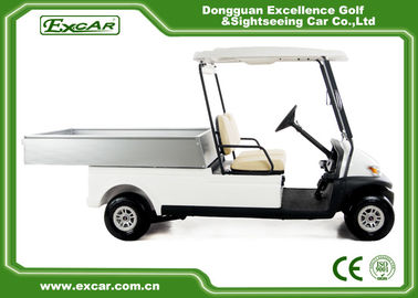China A1H2 / CC Electric Utility Carts 48 Voltage Battery With Comfortable Seats supplier