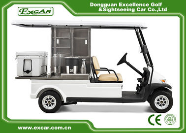 China 2 Passenger Electric Food Cart For Park Services With Trojan Battery supplier