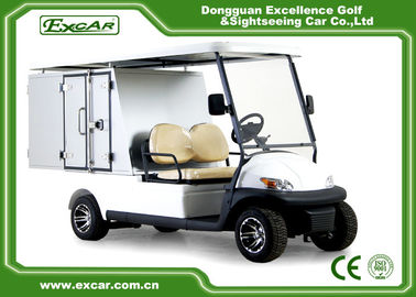China Cargo Type Hotel Golf Buggy With 205 / 50 - 10 Tyre Sofa Chair/Trojan Battery supplier