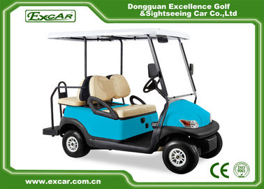 China EXCAR Trojan Battery Mini Electric Golf Car Unique Accelerator 4 Seater supplier