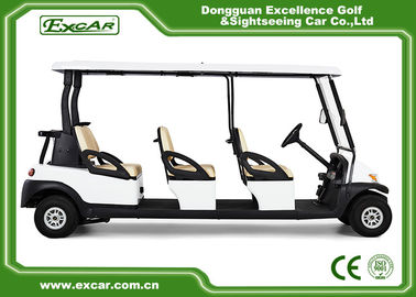 China EXCAR CE Certificate Electric Golf Cart 48V Trojan Battery Electric Golf Carts supplier