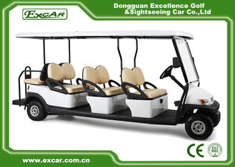 China Golf Course Electric Golf Buggy Electric Powered 8 Seater Golf Cart CE Approved supplier