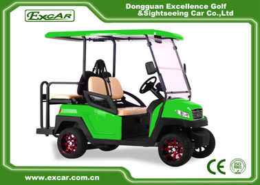 China 3 - 4 Seats Electric Golf Car 48 Voltage Battery Powered With CE Approved supplier