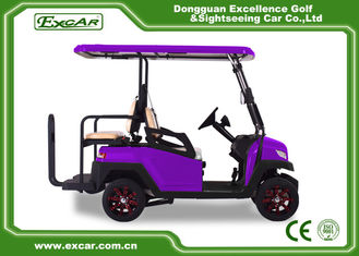 China 4 Wheel Fuel Type Battery Operated Golf Cart 350Ah 3700w CE Certificated supplier