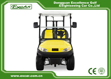 China Excar Golf Buggy Electric 2 Seater Yellow And Black ISO/CE Approved supplier