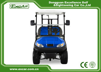 China Blue Color Mini Electric Golf Buggy 48V With Trojan Battery/Curtis Controller supplier
