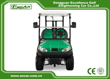 China EXCAR 2 Person Electric Golf Car Golf Course Car Curtis Controller supplier