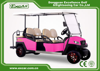 China Fuel Type 4 Person Golf Cart Buggy 48 Voltage ADC Separately Motor supplier