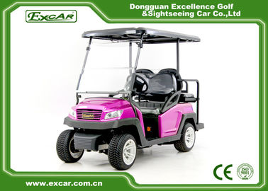 China 350A Controller Electric Lifted Golf Carts With Rear Seat For 4 Passengers supplier