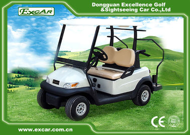 China Excar Mini 2 Person Second Hand Golf Cars 48V Trojan Battery With Caddie Plate supplier