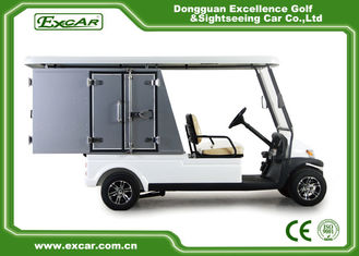 China Electric Utility Carts with Cargo box supplier