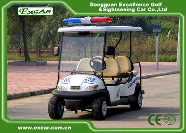China Automobile Large Golf Cart Security For 6 Person Enclosed Type supplier