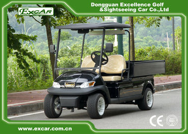 China 2 Seater Electric Golf Utility Carts Electric Hotel Buggy Car with Aluminium Cargo supplier