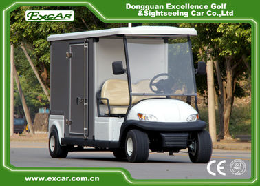 China White 2 Passenger Electric Food Cart supplier