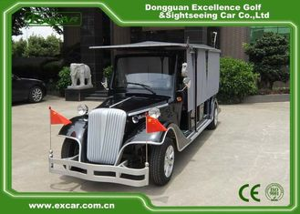 China CE Approved Vintage Golf Carts Enclosed Type 80KM Range DC System supplier