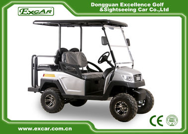 China Silver EXCAR 48 Voltage 275A Electric Golf Car 4 Wheel Electric Golf Cart supplier