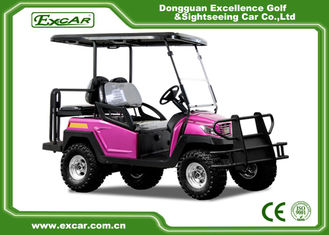 China Rose Color Electric Fuel Type 4 Wheel Electric Golf Car Electric Vehicle 48 Voltage Aluminium Framework supplier