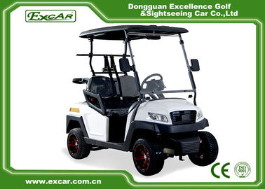 China 48V Trojan Battery Electric Golf Carts 2 Seater White Club Car Electric Golf Car supplier